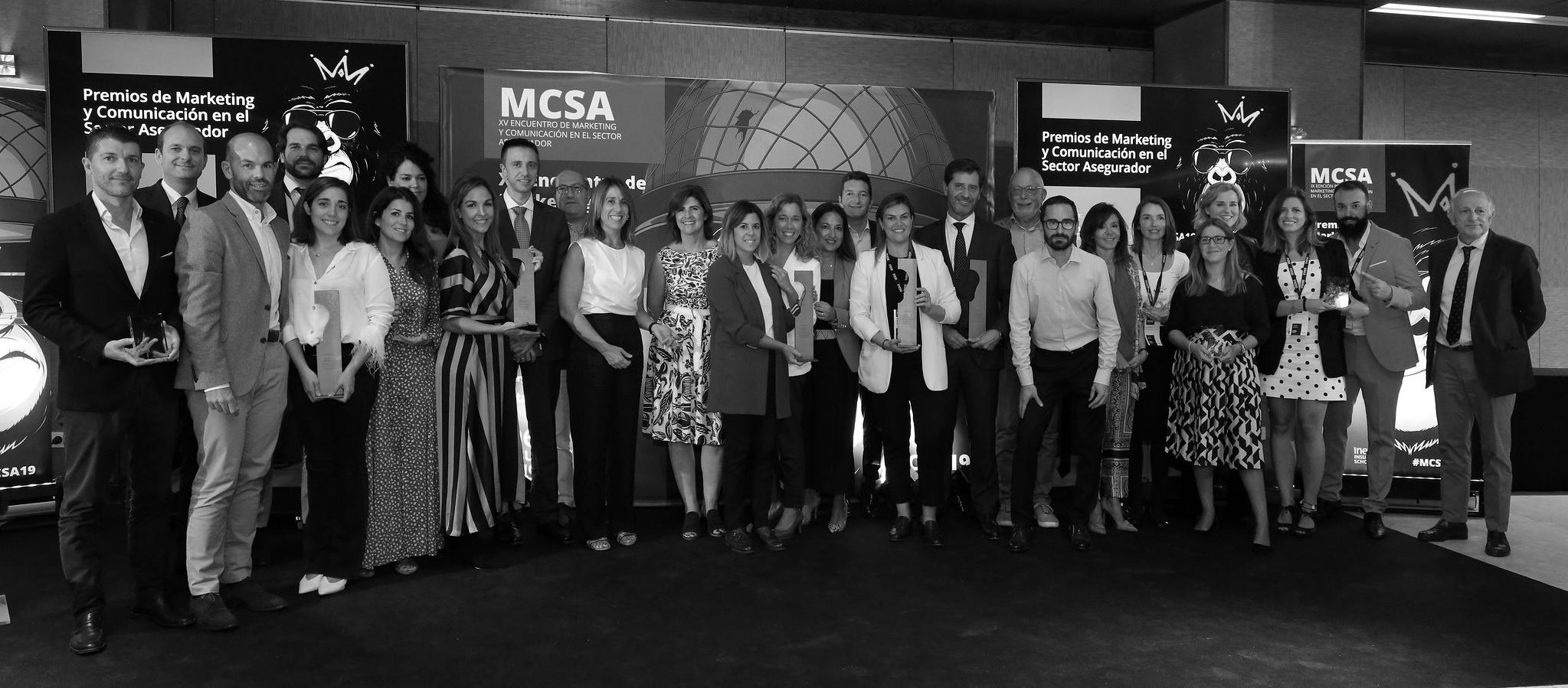 Ganadores de los Premios de Marketing y Comunicación en el Sector Asegurador